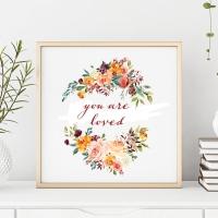 Freebies - Free Floral {Boho Inspired} Printables