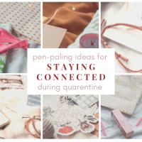 Pen Paling Ideas For Staying Connected During Quarantine