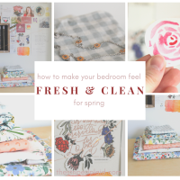 9 Ideas To Make Your Bedroom Feel Fresh & Clean For Spring