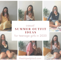 6 Casual Summer Outfit Ideas For Teenage Girls 2020