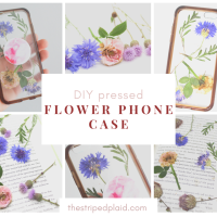 DIY Pressed Flower Phone Case (without resin)