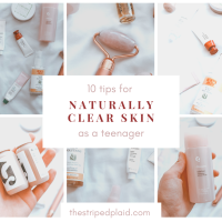 10 Tips For Naturally Clearer Skin