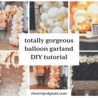 How To Make A Totally Gorgeous Balloon Garland