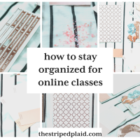 How To Stay Organized For Online Classes As A Highschooler