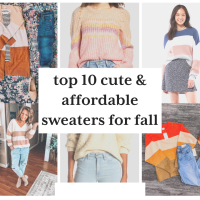 Top 10 Cute & Affordable Sweaters For This Season