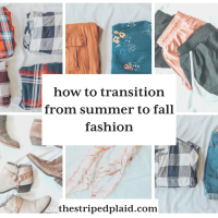 How To Transition From Summer To Fall Fashion