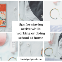 How To Stay Active & Fit When Doing School / Work At Home