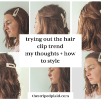 Trying Out The Hair Clip Trend - My Thoughts + How To Style