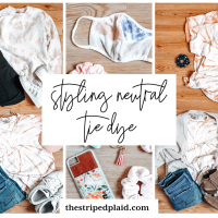 Ideas For Styling Neutral Tie Dye (& elevating tie dye in general)