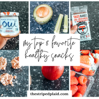 My Top 8 Favorite Healthy Snack Ideas