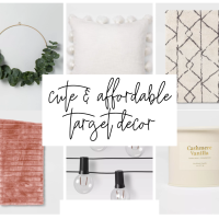 15 Affordable & Super Cute Target Décor Pieces