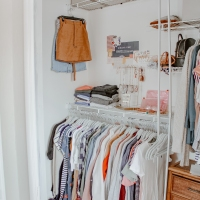 How To Organize Your Closet & Keep It Clean