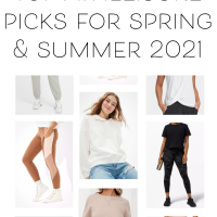 My Favorite Athleisure For Spring & Summer
