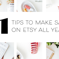 How I Make Consistent Sales All Year In My Etsy Shop (What No One Tells You) + SBO Merch