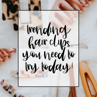 You Need To Try This New Hair Accessory | My Favorite Hair Clips